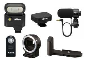 Nikon 1 Systemzubehör [Foto: Nikon]