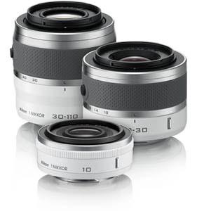Nikon 1 Objektive [Foto: Nikon]