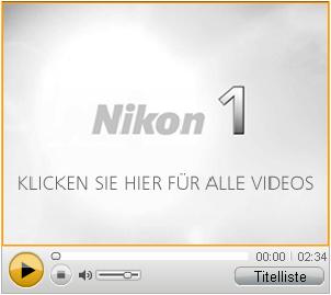Nikon 1 Produktvideos [Foto: Nikon]